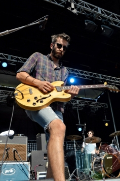 Tokyo Police Club performing at Riverfest Elora 2015 on Aug. 15, 2015. (Photo: Justin Roth/Aesthetic Magazine)