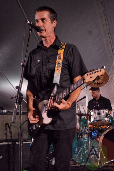 The Planet Smashers performing at Riverfest Elora 2015 on Aug. 15, 2015. (Photo: Justin Roth/Aesthetic Magazine)