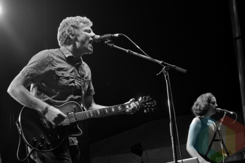 The New Pornographers performing at Riverfest Elora 2015 on Aug. 15, 2015. (Photo: Justin Roth/Aesthetic Magazine)