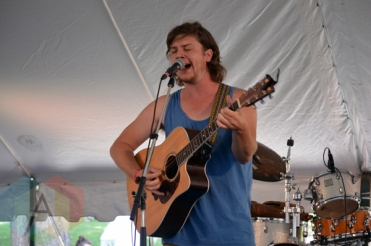 Jordan Klassen performing at Riverfest Elora 2015 on Aug. 16, 2015. (Photo: Justin Roth/Aesthetic Magazine)