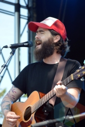 The Burning Hell performing at Riverfest Elora 2015 on Aug. 16, 2015. (Photo: Justin Roth/Aesthetic Magazine)