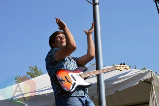 The Elwins performing at Riverfest Elora 2015 on Aug. 16, 2015. (Photo: Justin Roth/Aesthetic Magazine)