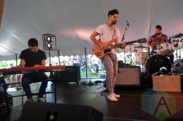 The Acorn performing at Riverfest Elora 2015 on Aug. 16, 2015. (Photo: Justin Roth/Aesthetic Magazine)