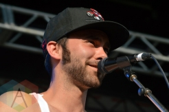 Shakey Graves performing at Riverfest Elora 2015 on Aug. 16, 2015. (Photo: Justin Roth/Aesthetic Magazine)