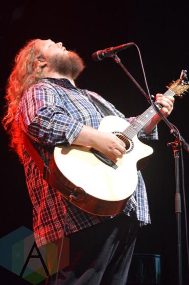 Matt Andersen performing at Molson Amphitheatre in Toronto, ON on Aug. 22, 2015. (Photo: Justin Roth/Aesthetic Magazine)