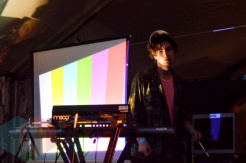 Doldrums performing at Camp Wavelength in Toronto, ON on Aug. 28, 2015. (Photo: Justin Roth/Aesthetic Magazine)