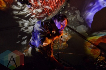 Holy Fuck performing at Camp Wavelength in Toronto, ON on Aug. 28, 2015. (Photo: Justin Roth/Aesthetic Magazine)