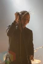 Refused performing at Ricoh Coliseum in Toronto on Aug. 7, 2015. (Photo: Julian Avram/Aesthetic Magazine)