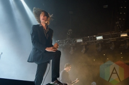 Refused performing at Ricoh Coliseum in Toronto on Aug. 7, 2015. (Photo: Julian Avram/Aesthetic Magazine)
