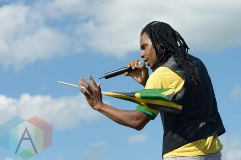 Steele performing at Jambana in Markham, ON, on August 3, 2015. (Photo: Steve Danyleyko/Aesthetic Magazine)