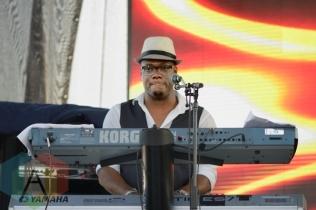 Tarrus Riley performing at Toronto Reggae Fest in Toronto, ON, on August 15, 2015. (Photo: Steve Danyleyko/Aesthetic Magazine)