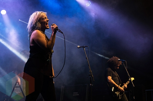 The Mandevilles performing at the CNE (The EX) in Toronto, ON on Aug. 22, 2015. (Photo: Theo Rallis/Aesthetic Magazine)