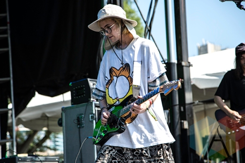 DIIV performing at Time Festival 2015 at Fort York in Toronto, ON on Aug. 15, 2015. (Photo: Brandon Lorenzetti/Aesthetic Magazine)