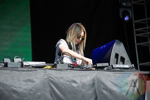 Alison Wonderland performing at Time Festival 2015 at Fort York in Toronto, ON on Aug. 15, 2015. (Photo: Brandon Lorenzetti/Aesthetic Magazine)