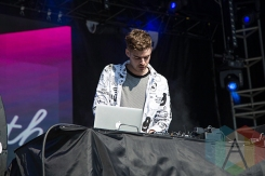 Ryan Hemsworth performing at Time Festival 2015 at Fort York in Toronto, ON on Aug. 15, 2015. (Photo: Brandon Lorenzetti/Aesthetic Magazine)