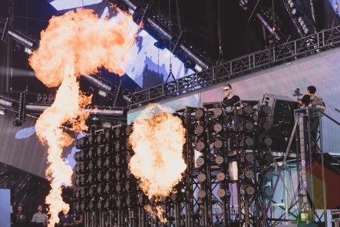 Nicky Romero performing at VELD Music Festival 2015. (Photo: Angelo Marchini/Aesthetic Magazine)