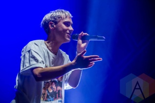 Years & Years performing at Leeds Festival 2015 on Aug. 28, 2015. (Photo: Tom Martin)