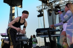 YellowMan performing at Toronto Reggae Fest in Toronto, ON, on August 15, 2015. (Photo: Steve Danyleyko/Aesthetic Magazine)