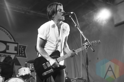 July Talk performing at the 2015 KOI Music Festival in Kitchener, ON on Sept. 25, 2015. (Photo: Sabrina Direnzo/Aesthetic Magazine)