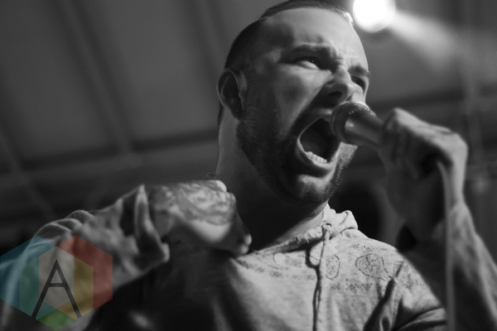 August Burns Red performing at the 2015 KOI Music Festival in Kitchener, ON on Sept. 26, 2015. (Photo: Sabrina Direnzo/Aesthetic Magazine)