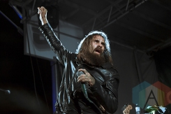 Letlive performing at the 2015 KOI Music Festival in Kitchener, ON on Sept. 26, 2015. (Photo: Sabrina Direnzo/Aesthetic Magazine)