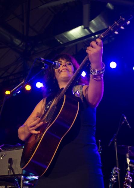 Lisa Leblanc performing at CityFolk 2015 at Lansdowne Park in Ottawa, ON on Sept. 17, 2015. (Photo: Marc DesRosiers)