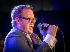 St. Paul and the Broken Bones performing at CityFolk Festival 2015 at Lansdowne Park in Ottawa, ON on Sept. 18, 2015. (Photo: Marc DesRosiers)