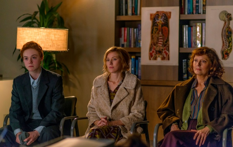 (L-R) Elle Fanning, Naomi Watts, and Susan Sarandon star in About Ray, which Michael Brook scored. (Photo: George Nicholis)