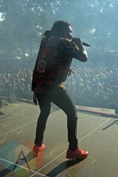 Future performing at the 2015 Budweiser Made in America Festival at Benjamin Franklin Parkway on Sept. 6, 2015 in Philadelphia, PA. (Photo: Kevin Mazur/Getty)