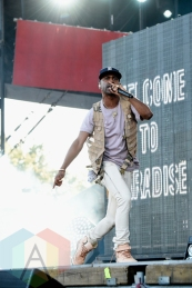Big Sean performing at the 2015 Budweiser Made in America Festival at Benjamin Franklin Parkway on Sept. 6, 2015 in Philadelphia, PA. (Photo: Kevin Mazur/Getty)
