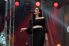 Banks performing at the 2015 Budweiser Made in America Festival at Benjamin Franklin Parkway on Sept. 6, 2015 in Philadelphia, PA. (Photo: Kevin Mazur/Getty)