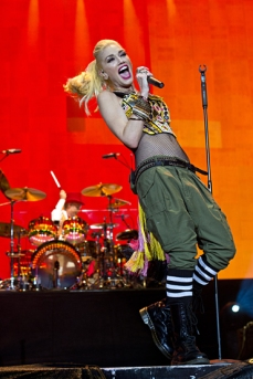 Gwen Stefani of No Doubt performing at the 2015 Kaaboo Del Mar Festival at the Del Mar Fairgrounds on Sept. 18, 2015 in Del Mar, CA. (Photo: WireImage)