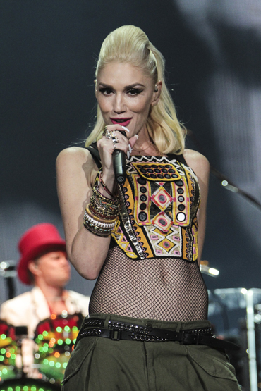 Gwen Stefani of No Doubt performing at the 2015 Kaaboo Del Mar Festival at the Del Mar Fairgrounds on Sept. 18, 2015 in Del Mar, CA. (Photo: Christopher Victorio/WireImage)