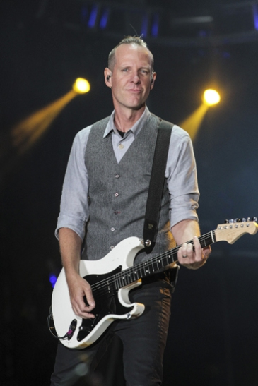 Tom Dumont of No Doubt performing at the 2015 Kaaboo Del Mar Festival at the Del Mar Fairgrounds on Sept. 18, 2015 in Del Mar, CA. (Photo: Christopher Victorio/WireImage)