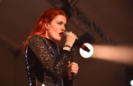 Caroline Hjelt of Icona Pop performing at the 2015 Kaaboo Del Mar Festival at the Del Mar Fairgrounds on Sept. 18, 2015 in Del Mar, CA. (Photo: C. Flanigan/WireImage)