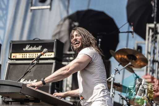 Andrew WK performing at Riot Fest Toronto 2015 at Downsview Park in Toronto, ON on Sept. 20, 2015. (Photo: Dale Benvenuto/Aesthetic Magazine)