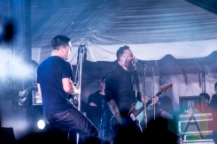 Alexisonfire performing at Riot Fest Toronto 2015 at Downsview Park in Toronto, ON on Sept. 19, 2015. (Photo: Dale Benvenuto/Aesthetic Magazine)