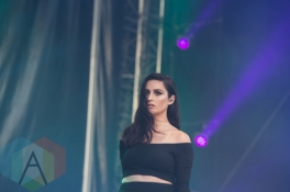 Banks performing at the 2015 Budweiser Made in America Festival at Benjamin Franklin Parkway on Sept. 6, 2015 in Philadelphia, PA. (Photo: Jaime Schultz/Aesthetic Magazine)