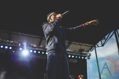 Bishop Nehru performing at Thrival Festival in Pittsburgh, PA on Sept. 26, 2015. (Photo: Emily Kovacic/Aesthetic Magazine)