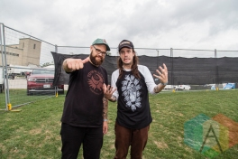 Cancer Bats at Riot Fest Toronto 2015 at Downsview Park in Toronto, ON. (Photo: Dale Benvenuto/Aesthetic Magazine)