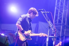 Ben Gibbard of Death Cab for Cutie performing at the 2015 Budweiser Made in America Festival at Benjamin Franklin Parkway on Sept. 5, 2015 in Philadelphia, PA. (Photo: Jaime Schultz/Aesthetic Magazine)