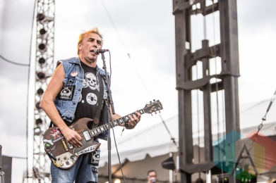 DOA performing at Riot Fest Toronto 2015 at Downsview Park in Toronto, ON on Sept. 19, 2015. (Photo: Dale Benvenuto/Aesthetic Magazine)