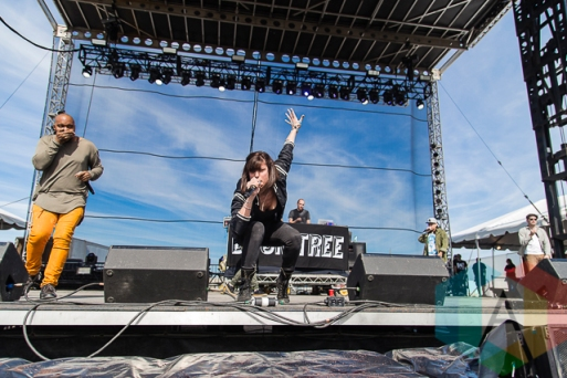 Doomtree performing at Riot Fest Toronto 2015 at Downsview Park in Toronto, ON on Sept. 20, 2015. (Photo: Dale Benvenuto/Aesthetic Magazine)