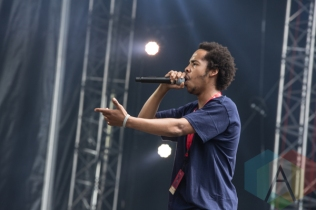 Earl Sweatshirt performing at the 2015 Budweiser Made in America Festival at Benjamin Franklin Parkway on Sept. 5, 2015 in Philadelphia, PA. (Photo: Jaime Schultz/Aesthetic Magazine)