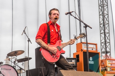 Eagles Of Death Metal performing at Riot Fest Toronto 2015 at Downsview Park in Toronto, ON on Sept. 19, 2015. (Photo: Dale Benvenuto/Aesthetic Magazine)