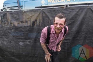 Jesse Hughes of Eagles Of Death Metal at Riot Fest Toronto 2015 at Downsview Park in Toronto, ON. (Photo: Dale Benvenuto/Aesthetic Magazine)