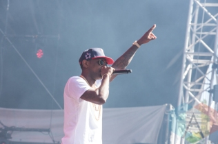 Fabolous performing at the 2015 Budweiser Made in America Festival at Benjamin Franklin Parkway on Sept. 6, 2015 in Philadelphia, PA. (Photo: Jaime Schultz/Aesthetic Magazine)
