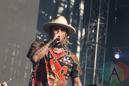 Future performing at the 2015 Budweiser Made in America Festival at Benjamin Franklin Parkway on Sept. 6, 2015 in Philadelphia, PA. (Photo: Jaime Schultz/Aesthetic Magazine)