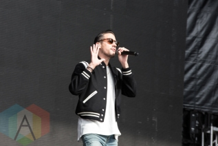G-Eazy performing at the 2015 Budweiser Made in America Festival at Benjamin Franklin Parkway on Sept. 5, 2015 in Philadelphia, PA. (Photo: Jaime Schultz/Aesthetic Magazine)