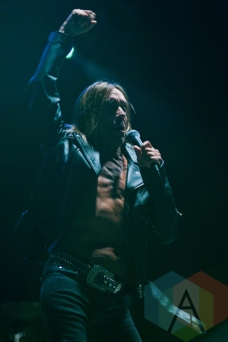 Iggy Pop performing at Riot Fest Chicago in Chicago, IL on Sept. 12, 2015. (Photo: Katie Hovland)